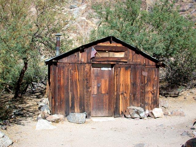 Newman Cabin Death Valley Journal